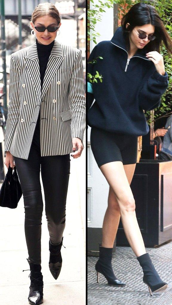 Kendall Jenner + Gigi Hadid