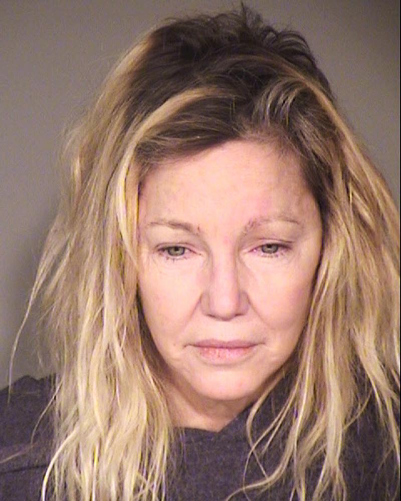 Heather Locklear mugshot