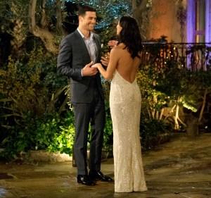 Joe and Becca Kufrin on The Bachelorette