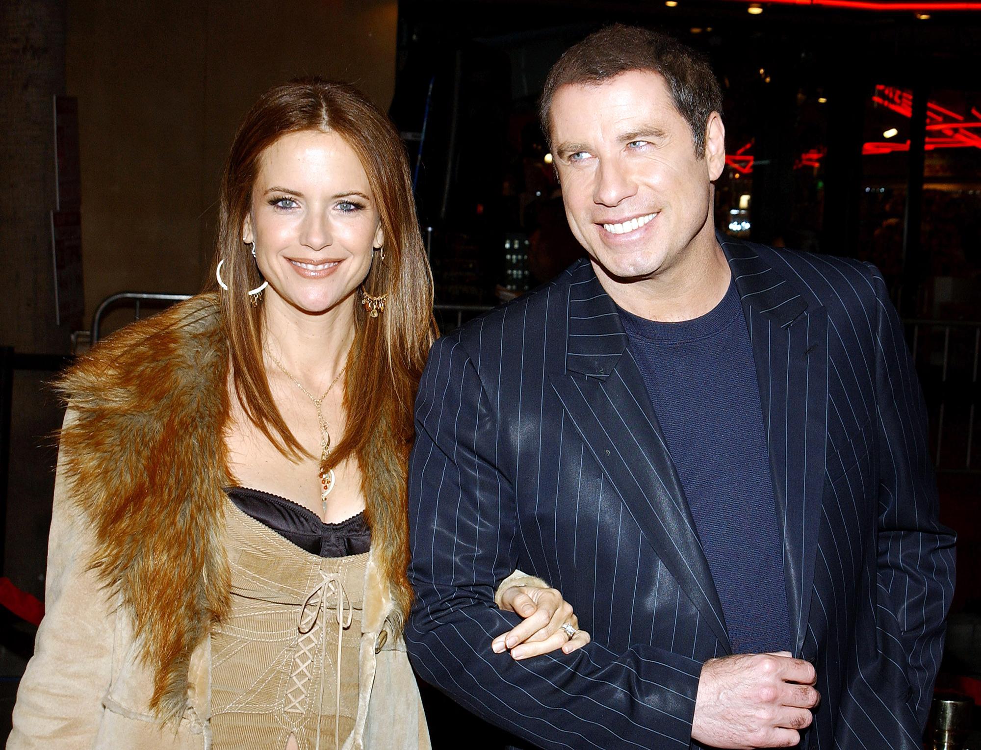 Kelly Preston John Travolta
