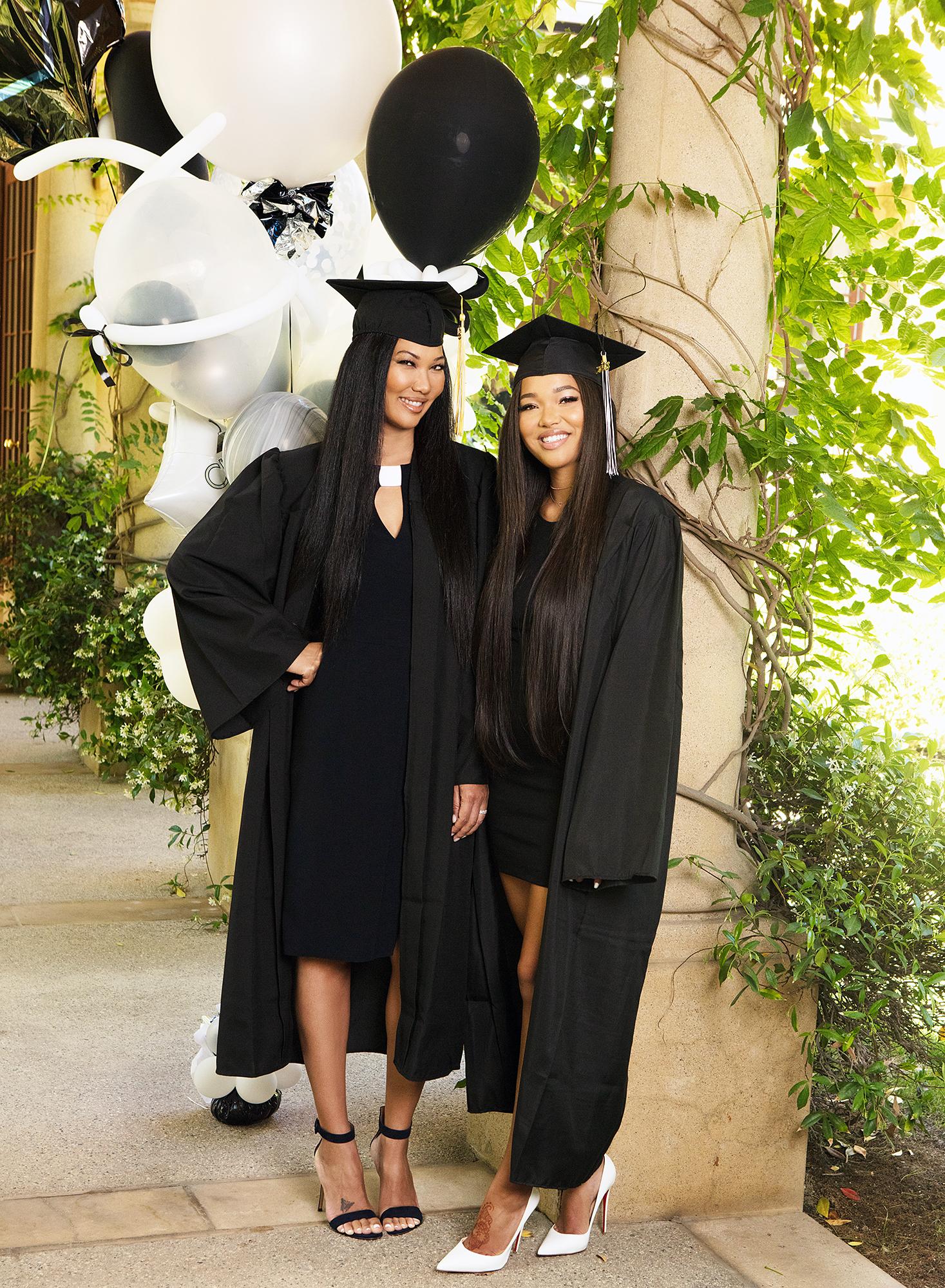 Kimora Lee Ming graduation