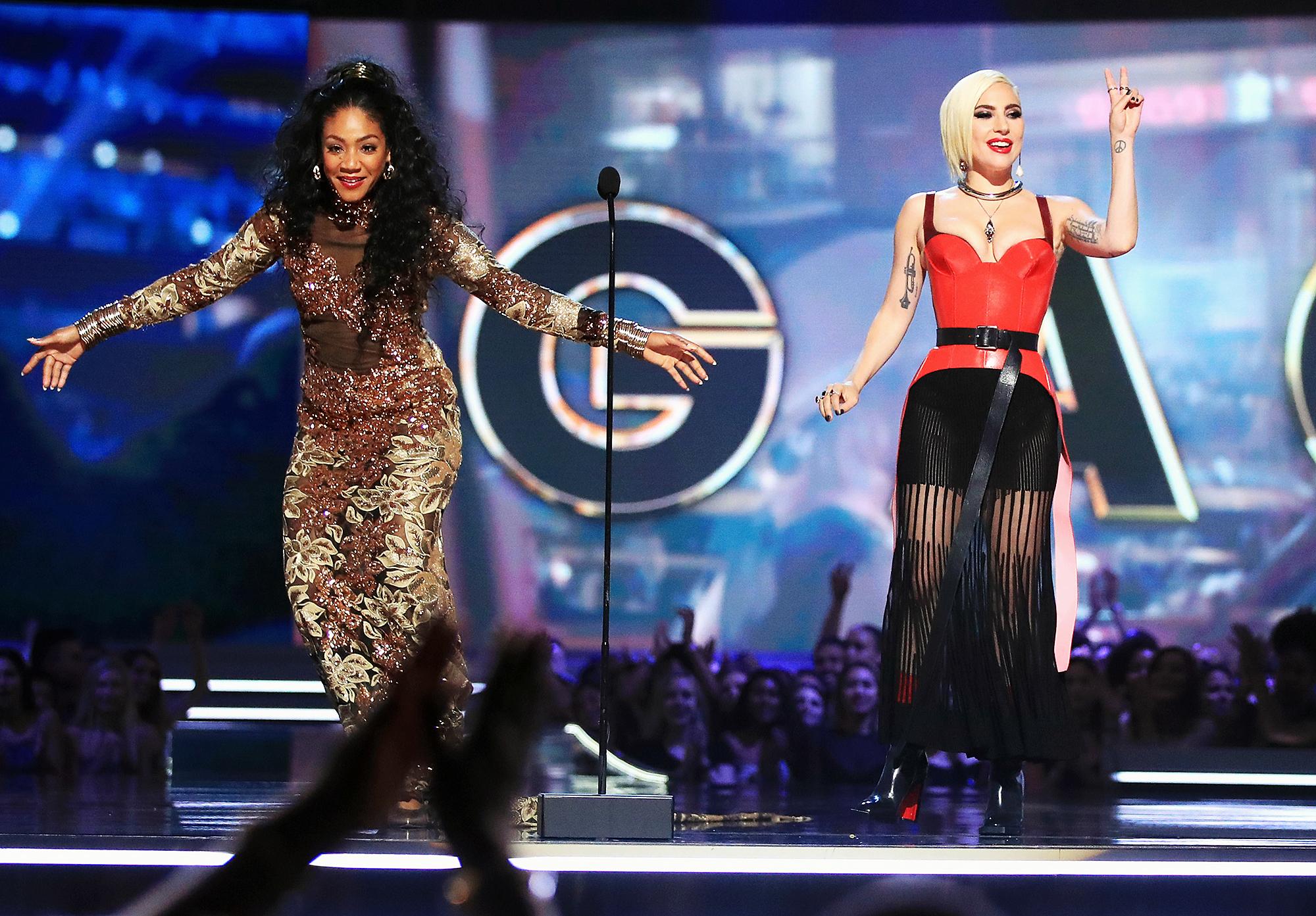 Tiffany Haddish Lady Gaga MTV Movie Awards 2018