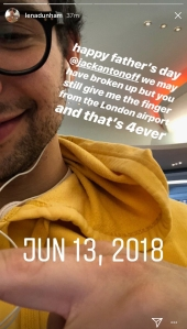 Lena Dunham Wishes Ex Jack Antonoff a Happy Father's Day