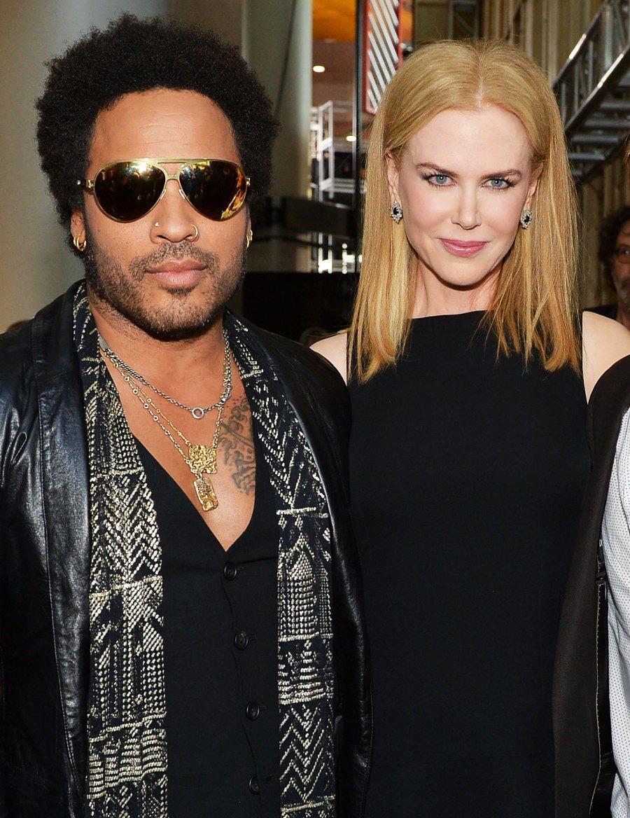 Hollywood's Broken Engagements Lenny Kravitz Nicole Kidman