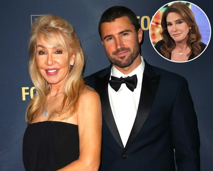 Linda Thompson, Brody Jenner and Caitlyn Jenner
