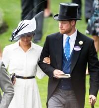 Duchess Meghan Markle Prince Harry Royal Ascot Day 1