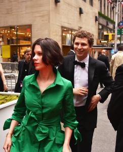 Michael Cera and wife, Nadine