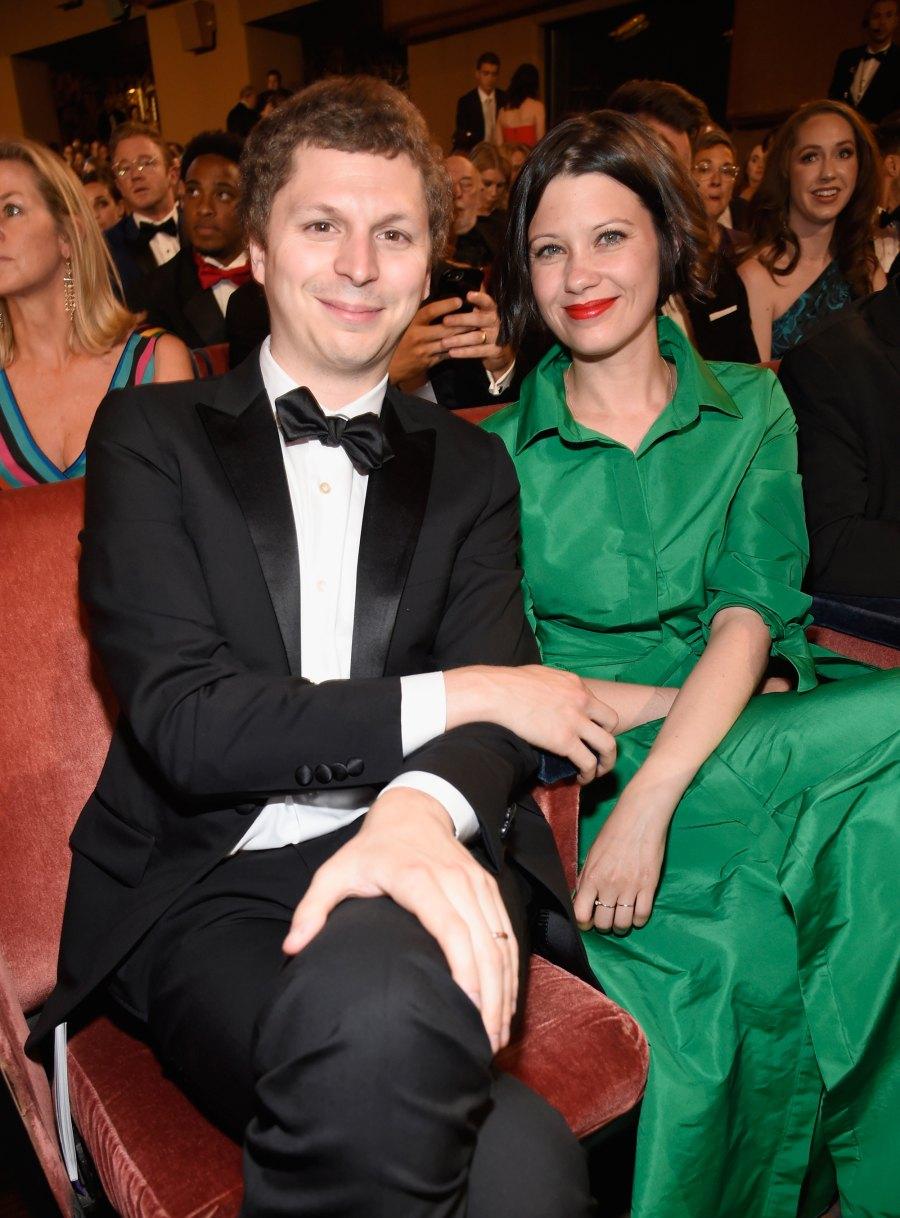Michael Cera and wife, Nadine