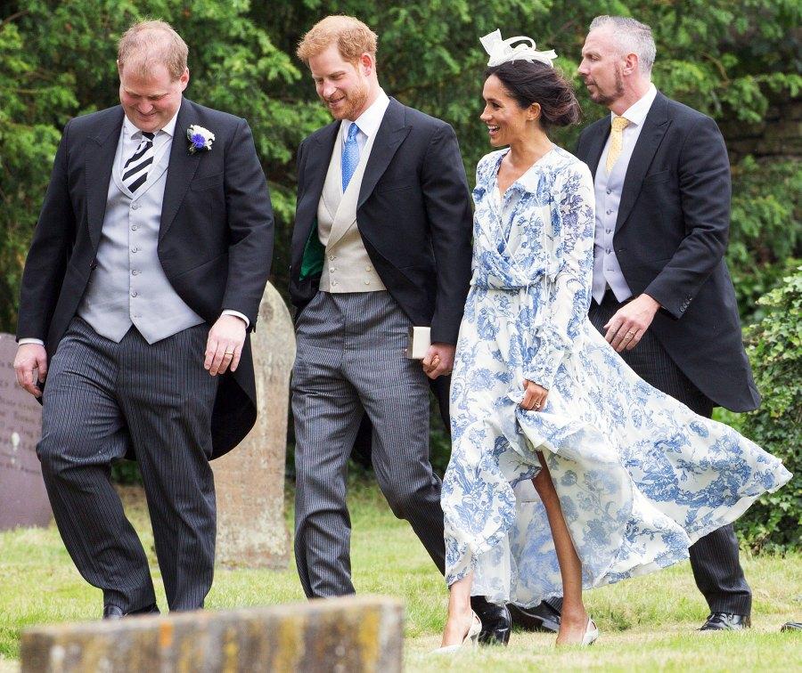Prince Harry Duchess Meghan Celia McCorquodal Wedding