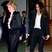 princess-diana-meghan-markle-black-suit