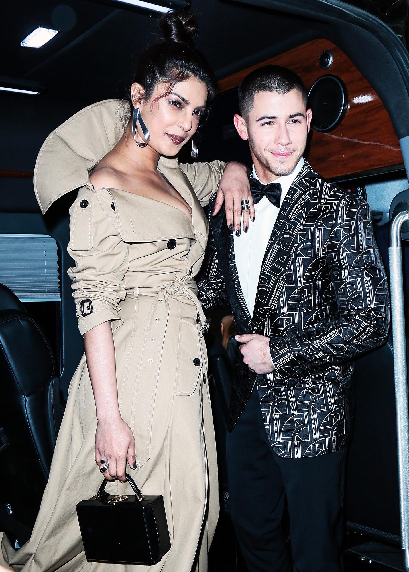 Priyanka Chopra Nick Jonas Date Night