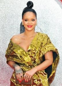 Rihanna Ocean's 8 Red Lips