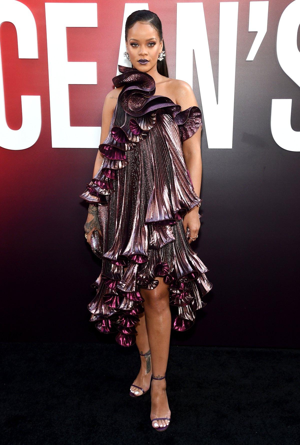 e6273b40f4e05 Ocean s 8 Red Carpet Fashion  Rihanna