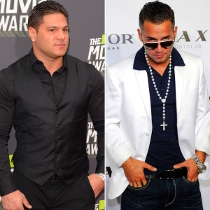 "Ronnie Ortiz-Magro and Mike ""The Situation"" Sorrentino"
