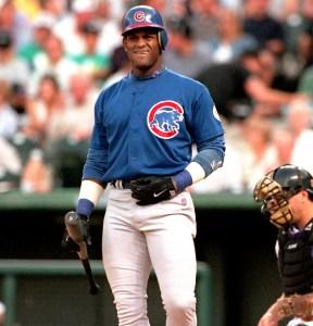 Sammy Sosa in 1998.