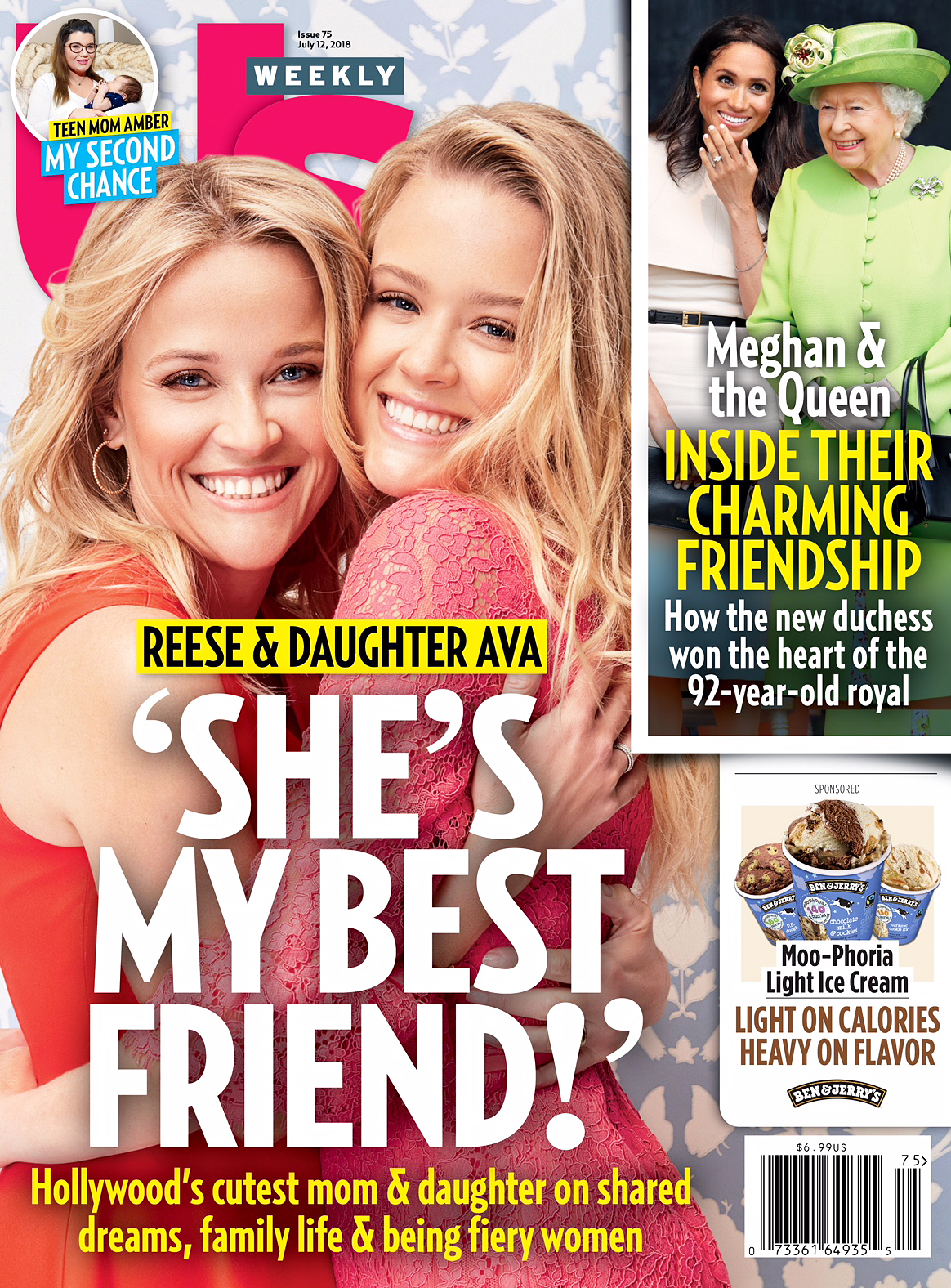 Us Weekly Cover Reese Witherspoon Ava Phillippe