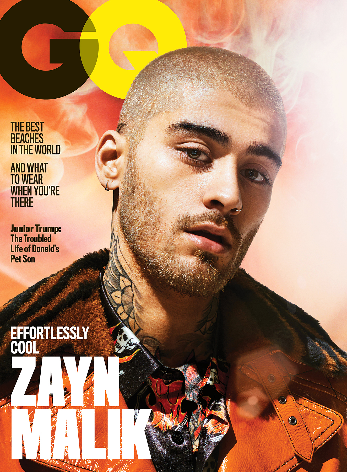 Zayn Malik GQ Gigi Hadid Relationship No Label
