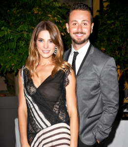 Ashley Greene and Paul Khoury attend 'The Starry Late Party' during the 73rd Venice Film Festival in Venice, Italy.