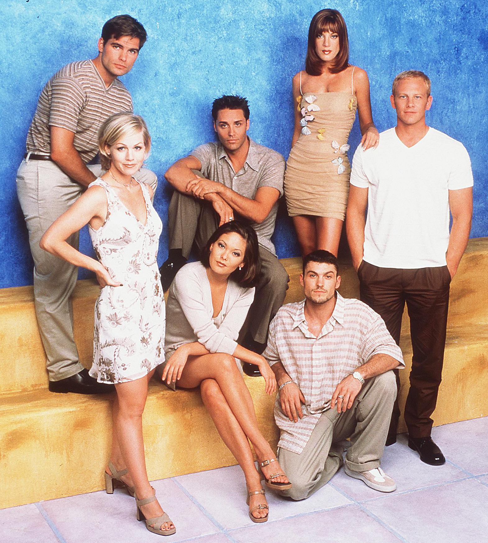 Beverly Hills 90210 Ian Ziering Tori Spelling Sharknado