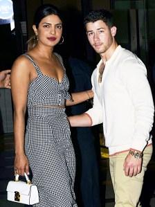 Priyanka Chopra and Nick Jonas together in Mumbai on June 22, 2018.