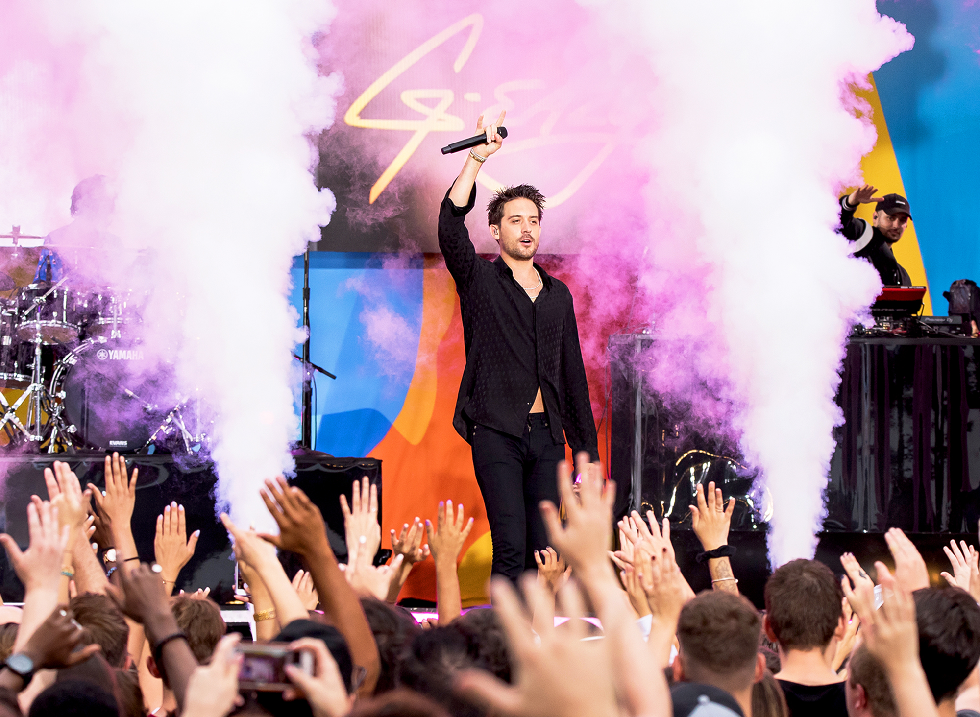 G-Eazy performs on ABC's