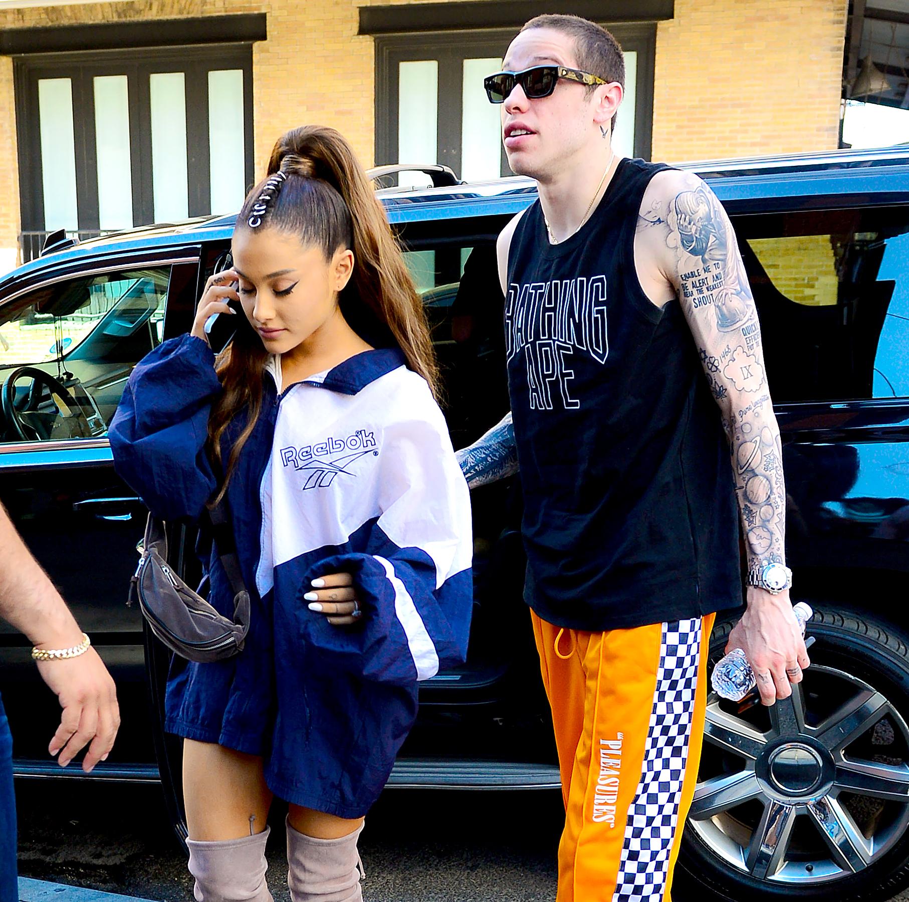 b938c3c6ce78 Pete Davidson Deletes Instagram Pics, Ariana Grande Turns Off Comments