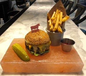 David Burke Cheeseburger