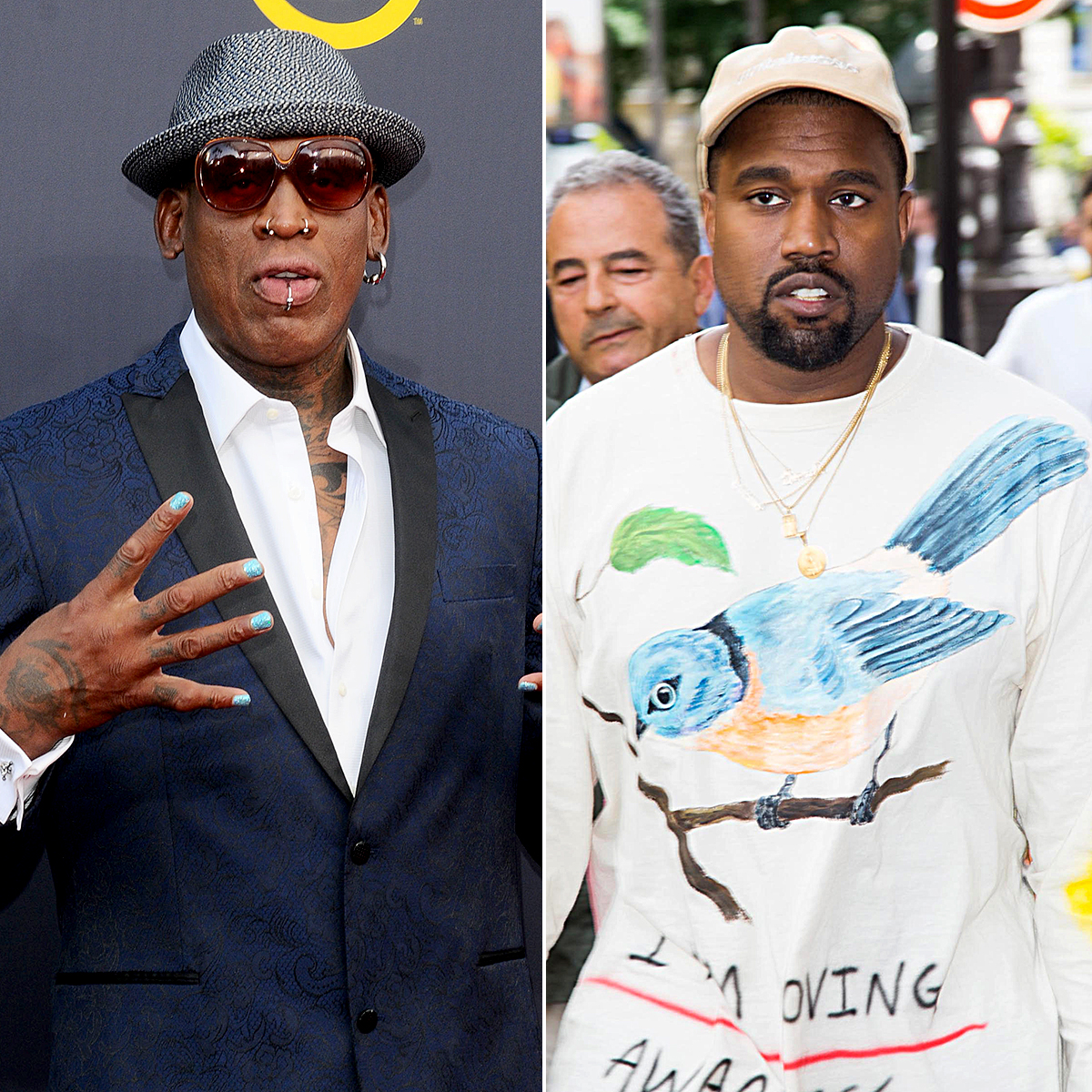 Dennis Rodman Wants To Bring Kanye West With Him To North Korea