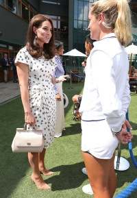 Duchess Kate of Cambridge, Wimbledon, Fashion