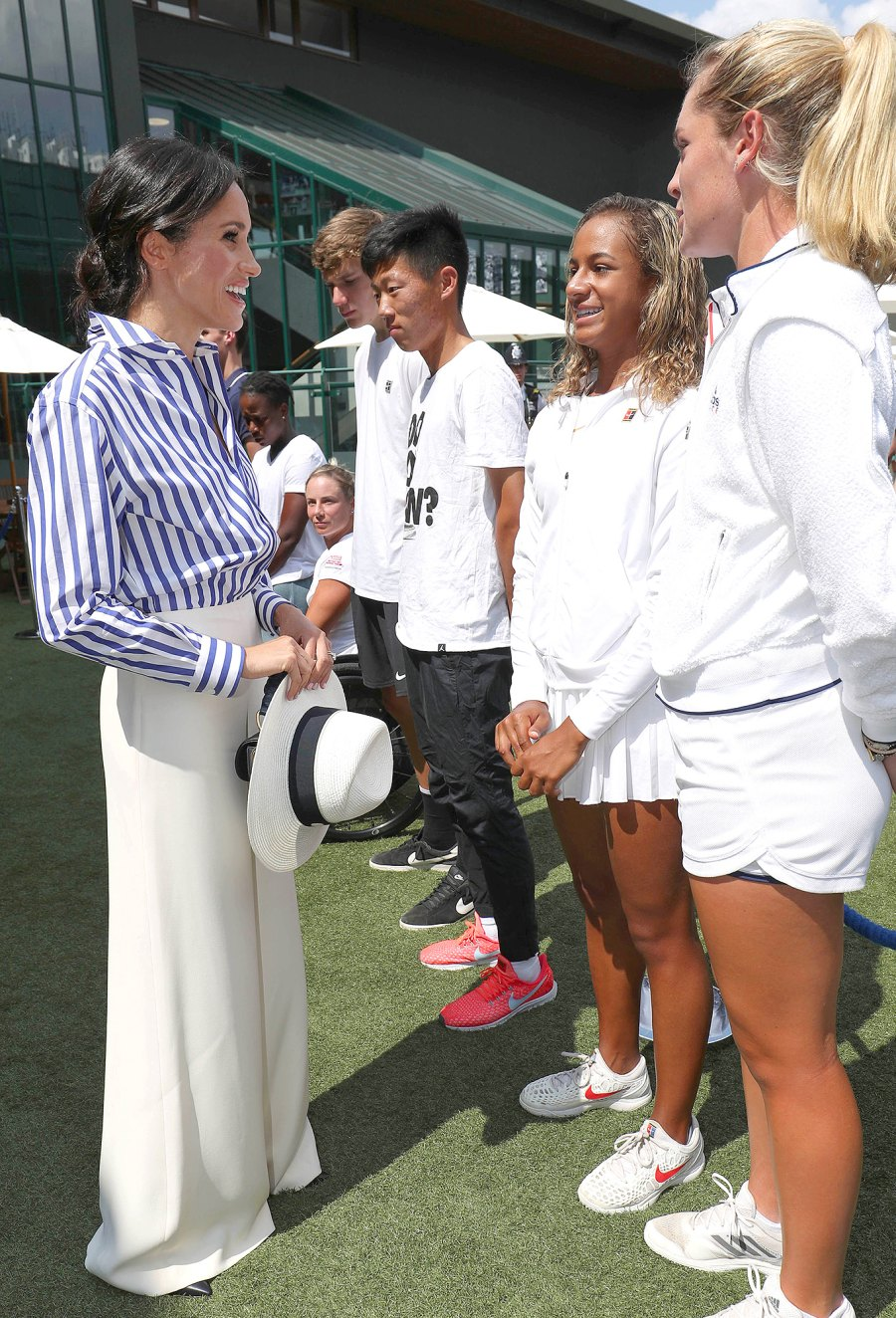Duchess Meghan of Sussex, Wimbledon, Fashion