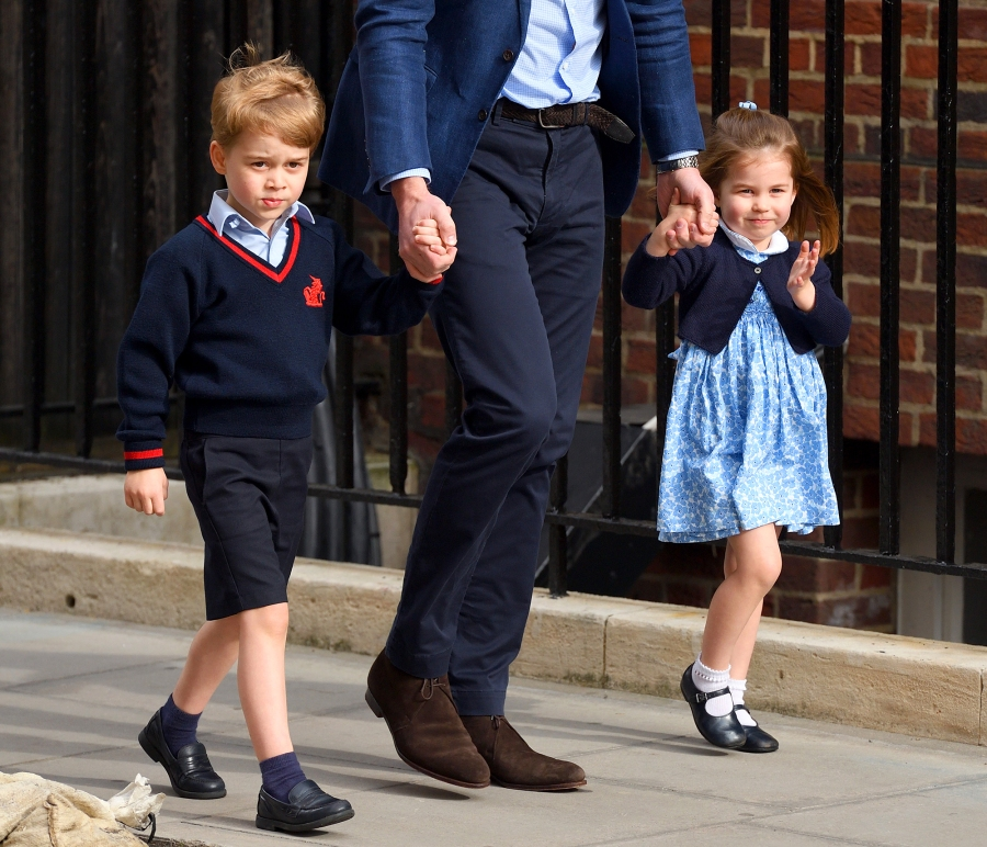 Prince George Princess Charlotte Wedding Roles Princess Eugenie Jack Brooksbank