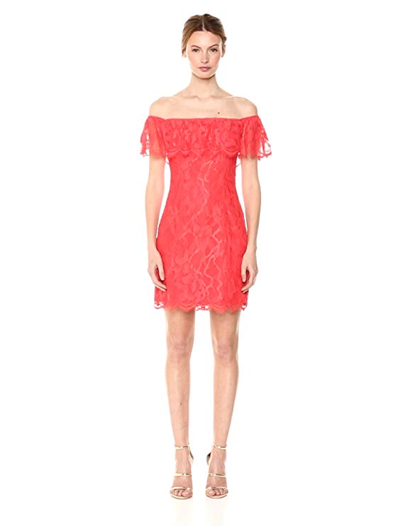 red lava guess dress amazon prime day deal