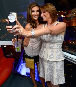 Heather McDonald and Jill Zarin