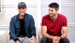 James Lafferty and Stephen Colletti