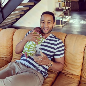 f80a4588 Chrissy Teigen Shares Hilarious Video of John Legend, Baby Miles and ...
