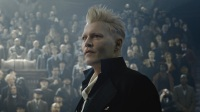 Johnny Depp, Gellert Grindelwald, Fantastic Beasts, The Crimes of Grindelwald