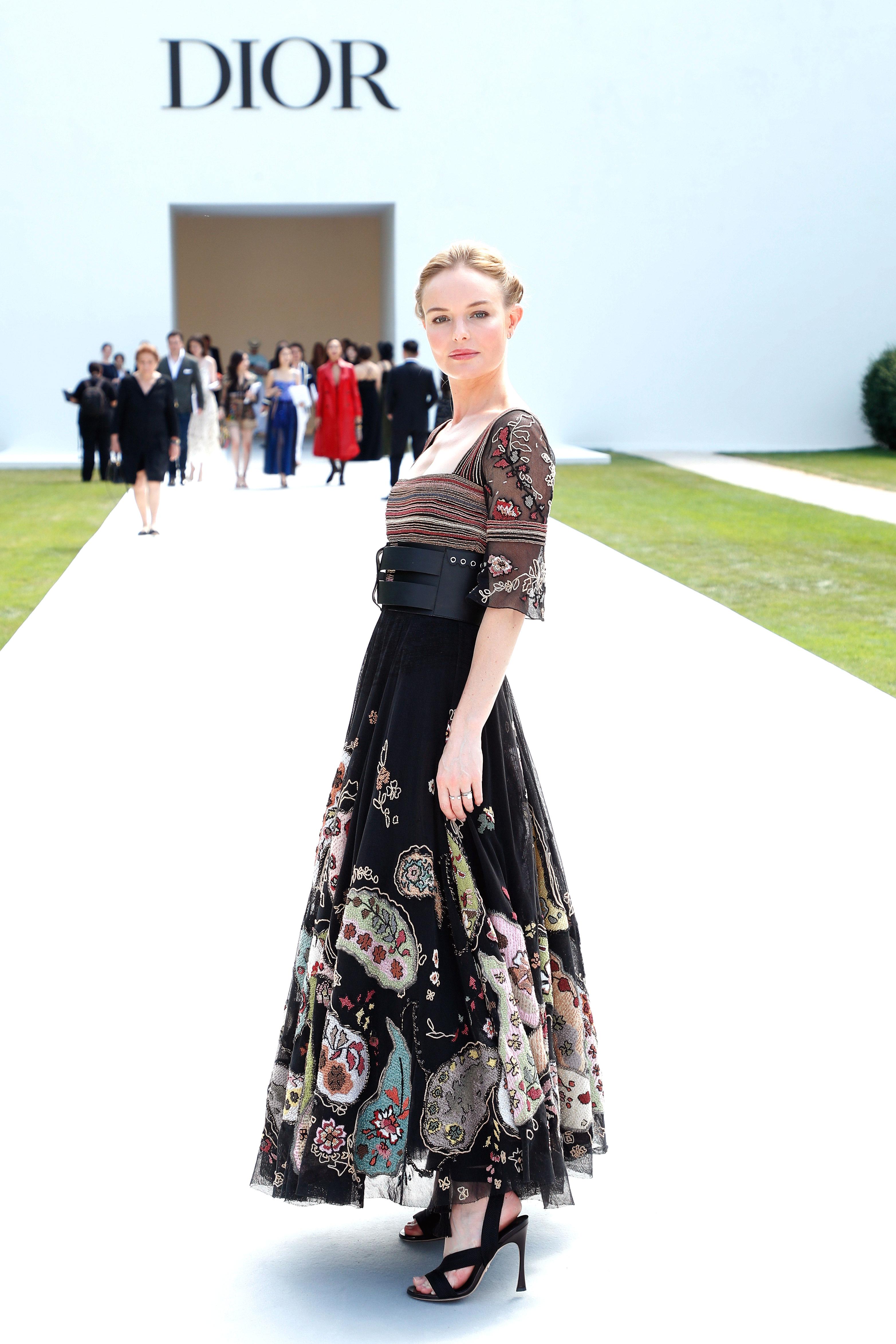 Resultado de imagem para dior haute couture winter 2019 kate bosworth