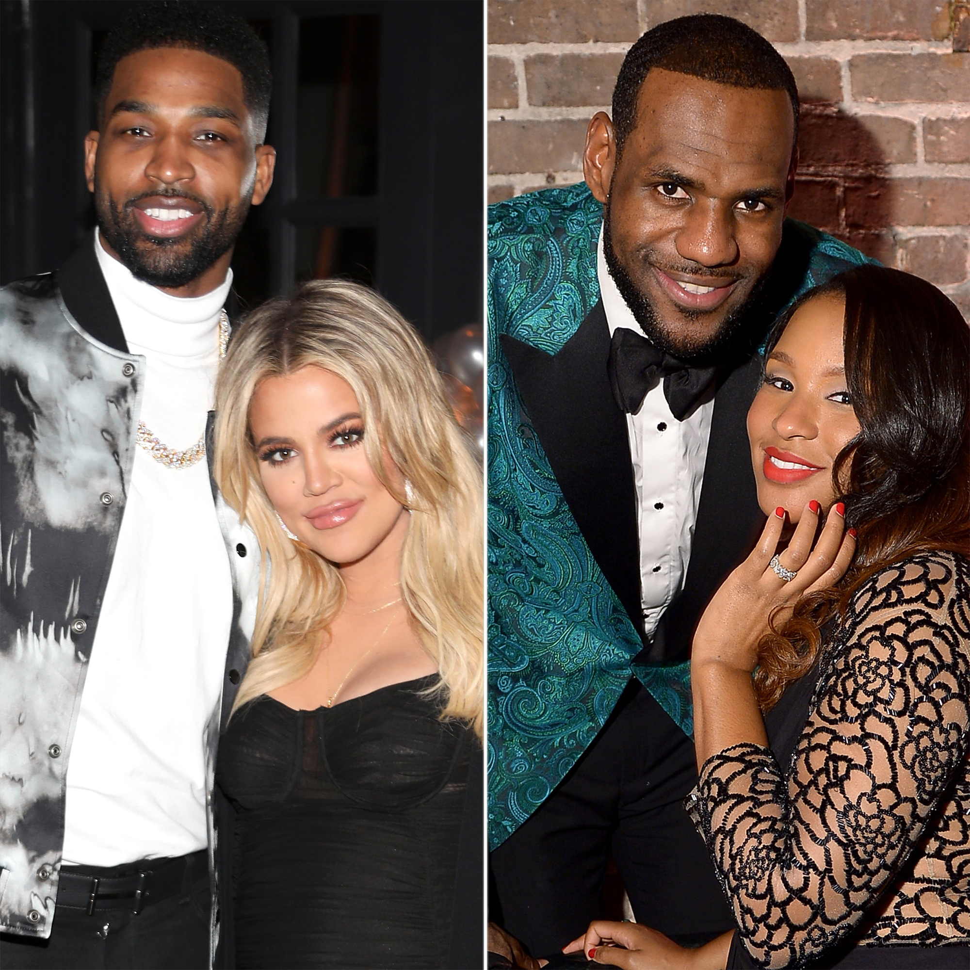 f31f2a97bcaf Khloe Kardashian and Tristan Thompson Double Date With LeBron James