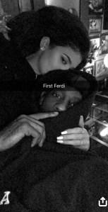 Kylie Jenner, Travis Scott, Snapchat, First Ferdi
