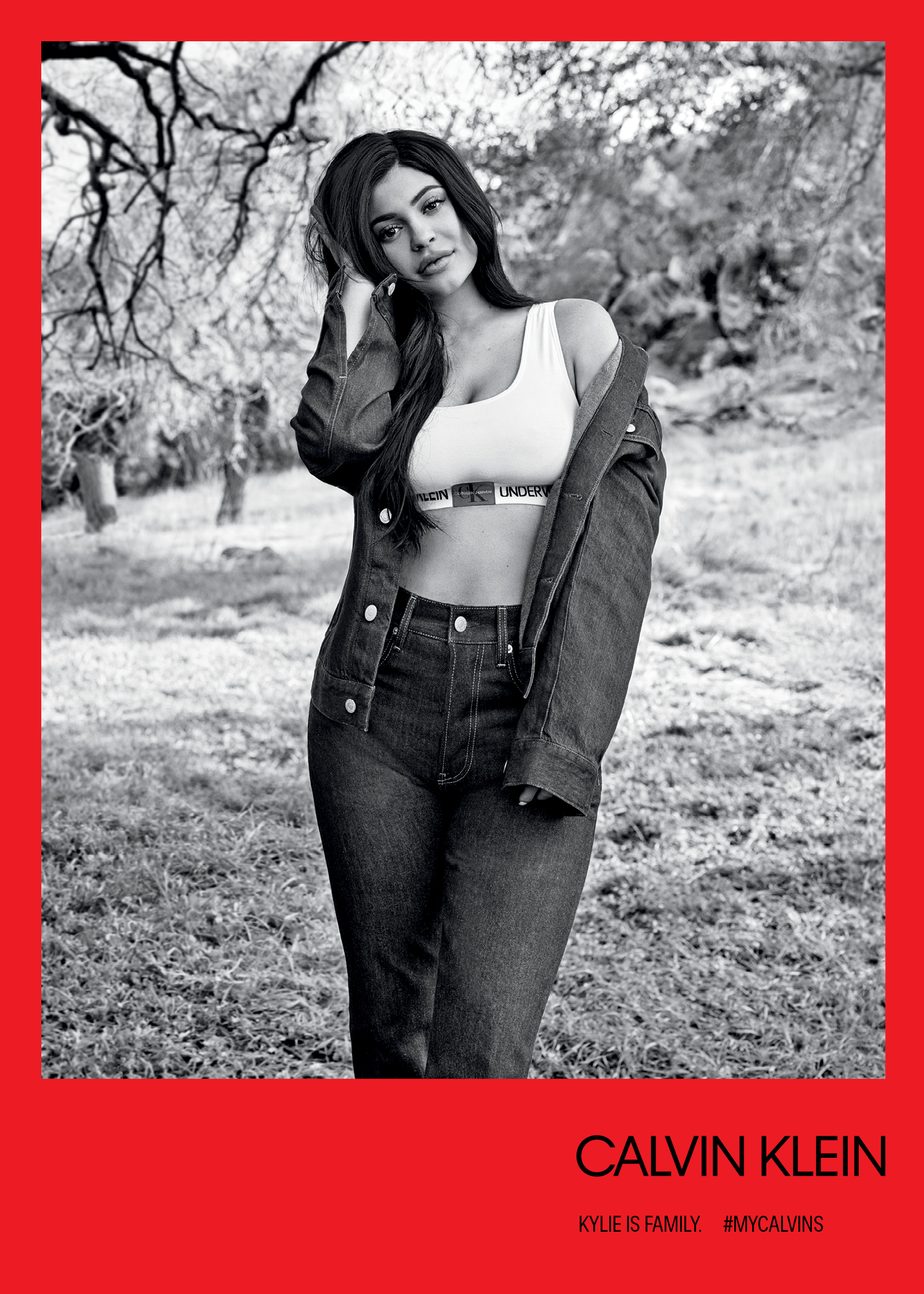 a4ca55560a Kardashian-Jenner Sisters in Fall 2018 Calvin Klein Underwear Campaign