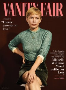 Michelle Williams Vanity Fair