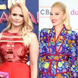 Miranda Lambert and Gwen Stefani