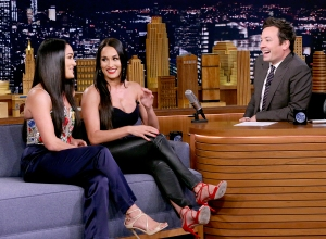 Nikki-Brie-Bella-Jimmy-Fallon