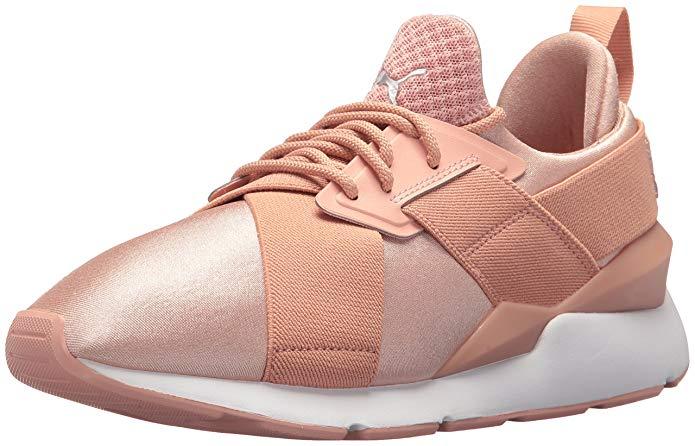 PUMA Women's Muse Satin En Pointe Wn Sneaker