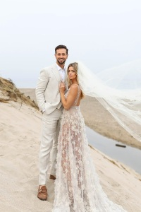 Paul Khoury, Ashley Greene, Wedding Dress, Married, Sarah Falugo, Photographer