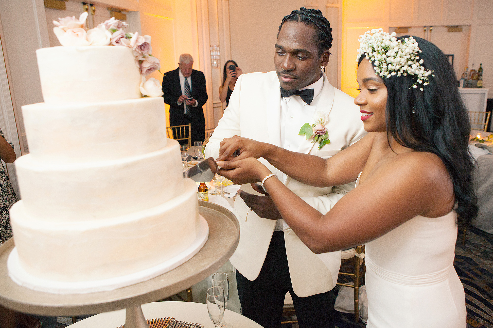 Pusha T Marries Virginia Williams In Star Studded Wedding Photos