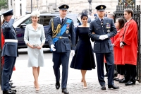 Royals-Attending-the-RAF-100-Service