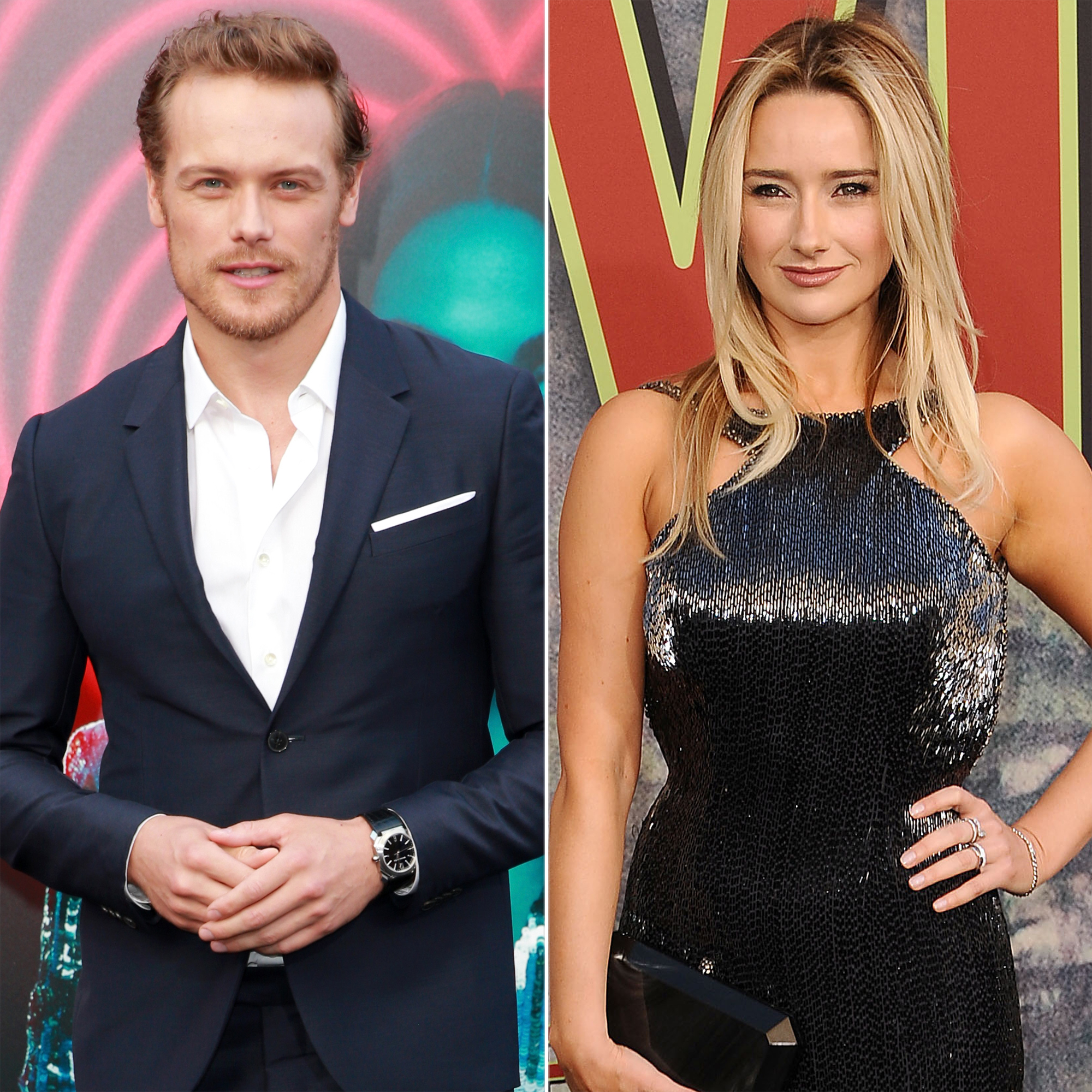 Outlander S Sam Heughan Is Dating Actress Amy Shiels Amy shiels is an irish actress who appeared as candie in twin peaks (2017). sam heughan is dating actress amy shiels