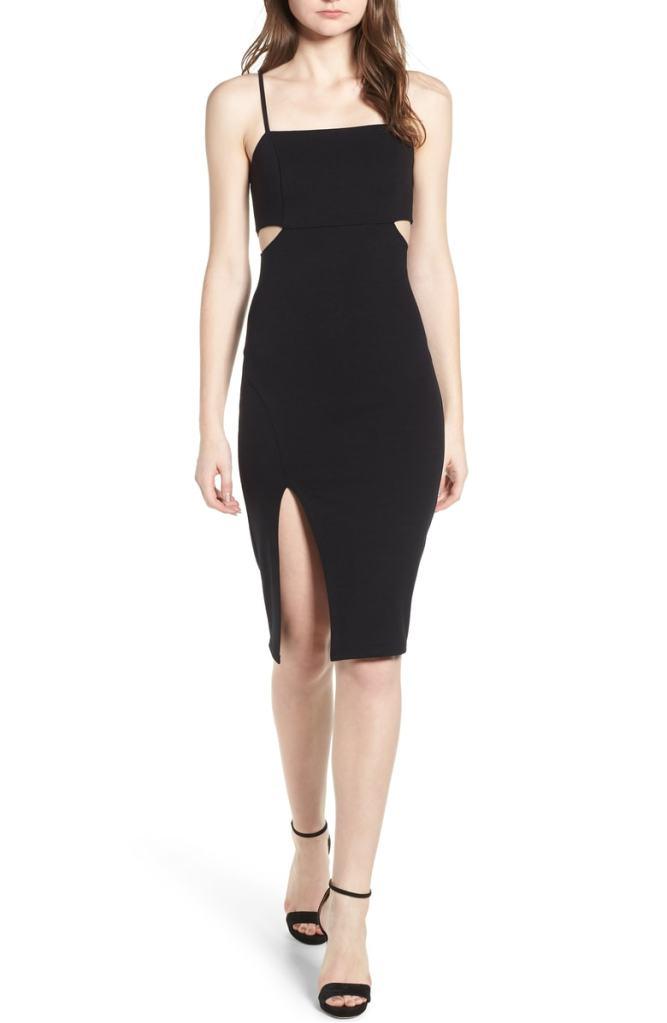Soprano Side Cutout Bodycon Dress