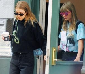 Taylor Swift, Gigi Hadid, Reunite, Reputation